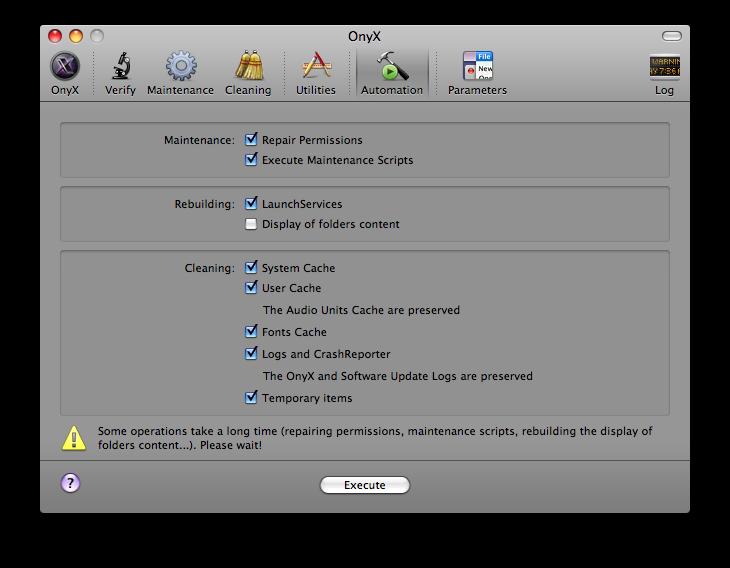 Onyx for mac